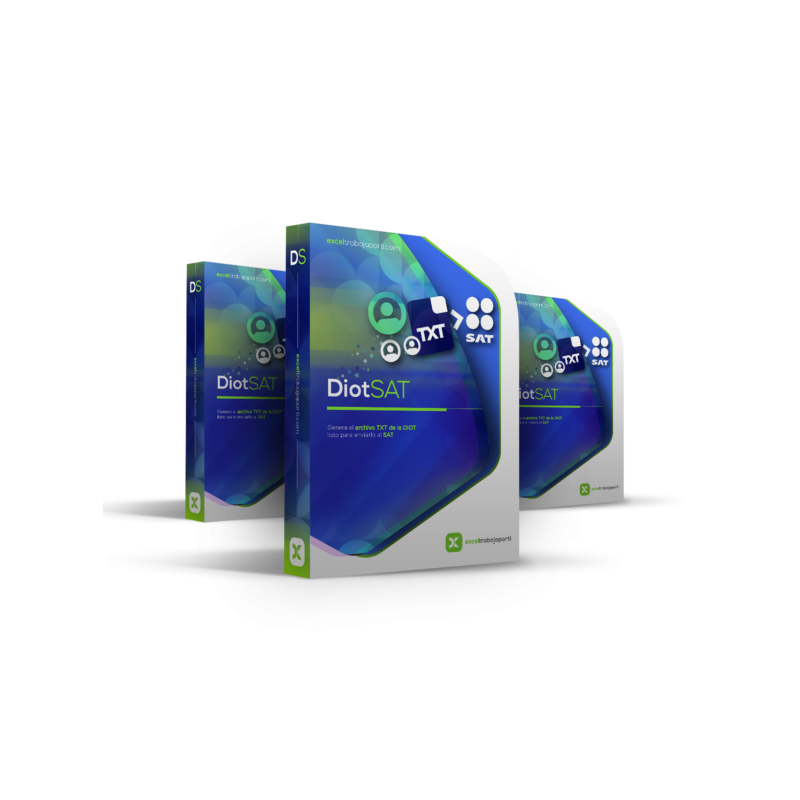 Carga Batch Diot en Excel 2021