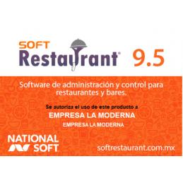Soft Restaurant 9.5 Professional
